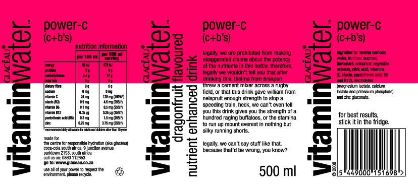 Vitamin Water Label Cheat Vitamin Water Nutrition Label